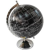 mappa del mondo con supporto decorativo stile