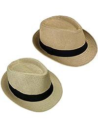 Sombrero De Panamá para Mujer Sombrero para El Sol Sombrero De Verano  Sombrero Especial Estilo De Playa Sombrero De Paja Sombrero… 02f7ac4f3d3