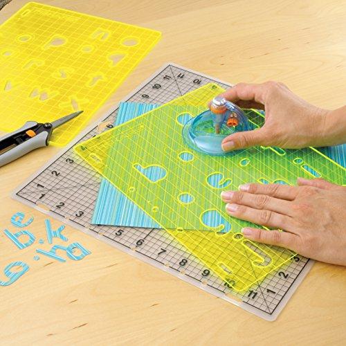 Fiskars 2407001 Shape Cutter Plus, 6 cm x 9 cm Durchmesser - 6