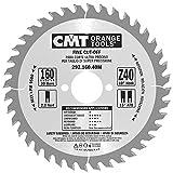 CMT 292.160.40M Lama Circolare per Taglio di Precisione per Macchine Portatili, Metallo/Grigio