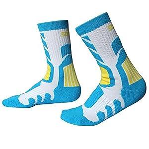 Gtopart 1 Paar Crew Socken, Sportsocken, Skisocken, Snowboardsocken Atmungsaktiv für Damen Kinder