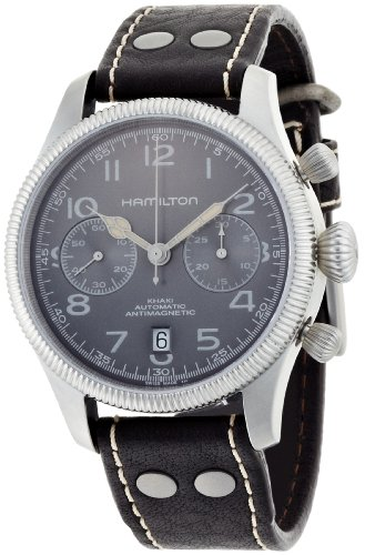 NEW HAMILTON KHAKI FIELD PIONEER AUTO CHRONO WATCH H60416583