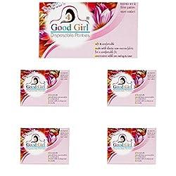 4Good Girl Disposable Panties Combo of 5 Pack-(100-108 cm) (XL)