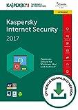 Kaspersky Internet Security 2017 5 Geräte Upgrade [Download]