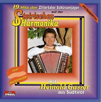 19 Hits der Zillertaler Schürzenjäger auf der Steirischen Harmonika - Instrumental - Zum Nachspielen