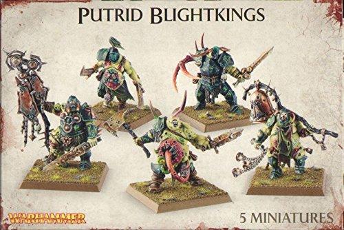 Warhammer 40K Age of Sigmar Nurgle Rotbringers Putrid Blightkings