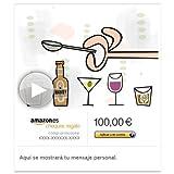 Cheque Regalo de Amazon.es - E-mail - Cumpleaños brindamos (animación)