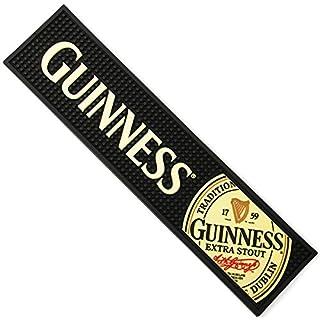 Tapis De Bar en Caoutchouc Label Guinness