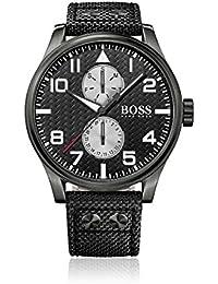 a0b69dfa4ec3 Hugo Boss 1513086 - Reloj con Correa de Acero para Hombre