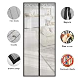TSYMO Fly Screen for Doors Magnetic Net - Mosquito Insects Mesh Curtain, 5