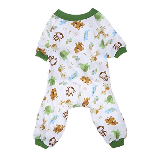 (Gowind6 Hundepyjama aus Baumwolle mit Aufdruck)