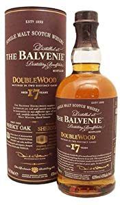 The Balvenie 17 Year Old Double Wood Single Malt Scotch Whisky (Case of 12 x 70cl Bottles) by William Grant & Sons Ltd