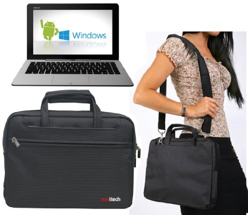 Navitech Schwarzes Ultrabook / Laptop / Notebook