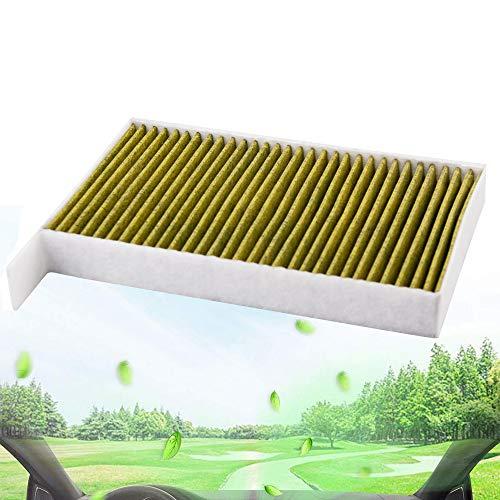 Auto Innenraumluftfilter Pollenstaub Luftfilterreiniger, Fresh Breeze Ersatz für Model 3 (2 Stück)