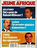 JEUNE AFRIQUE [No 1454] du 16/11/1988 - AIR AFRIQUE - QUI A PEUR DE ROLAND-BILLECART - ALGERIE - UN 1ER MINISTRE D'OUVERTURE - TUNISIE - Y A-T-IL ENCORE DES OPPOSANTS - ZINE EL ABIDINE BEN ALI.
