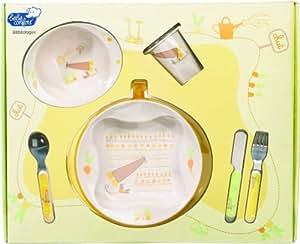 Bébé Confort Coffret Repas Melamine Jardin De Lulu Collection 2009