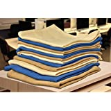 Lakshmi Trader Multi Purpose Hand, Face, Hand, Gym, Spa Towels, Large Size Pack Of 3 - Buy 1 Get 1 Free