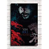 Pixel Artz Wall Poster - Jon Snow - Son Of Ice And Fire - Game Of Thrones - HD Quality Poster