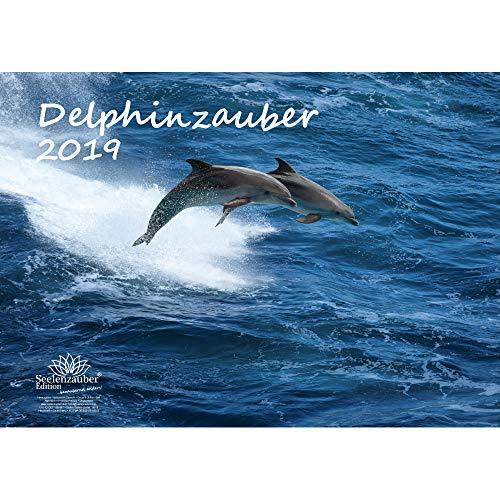 Delphinzauber · DIN A3 · Premium Kalender 2019 · Tauchen · Delfin · Delphin · Fische · Tier · Meer · Edition Seelenzauber