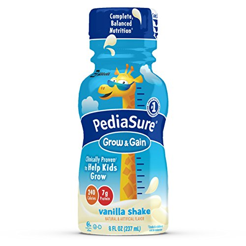 pediasure Grow and Gain 237 ml Nutrition Shake for Kids, Vanilla Flavour  available at amazon for Rs.5089