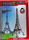 Built Up Toys - Juego de construcción con piezas de aluminio (341 piezas), diseño de Torre Eiffel