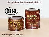 500ml Holzwachs EN-71/3 Zertifiziert (08 - farblos)