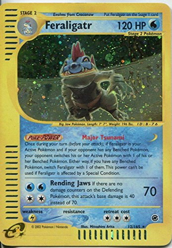 Pokemon Expedition Holofoil-#12/16 (DE) Feraligatr 5.