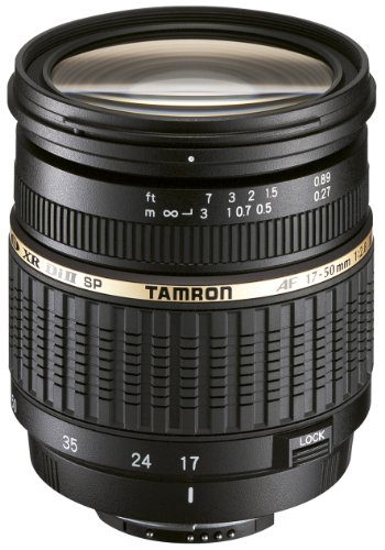 Tamron AF 17-50mm 2,8 XR Di II LD ASL digitales Objektiv (67 mm Filtergewinde) mit