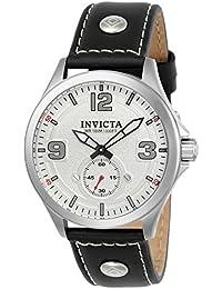 Invicta Analog White Dial Men's Watch-22527 at amazon