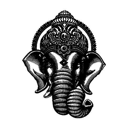 Wandtattoo Kinderzimmer Buddha Tanz Indischer Hinduismus Elefant Ganesh Buddhismus Wandkunst Aufkleber Aufkleber Wandbild Wohnzimmer Yoga Studio