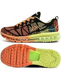 T-Gold Zapatos para Correr en Montaña y Asfalto Aire Libre y Deportes Zapatillas de Running Padel para Hombre Mujer