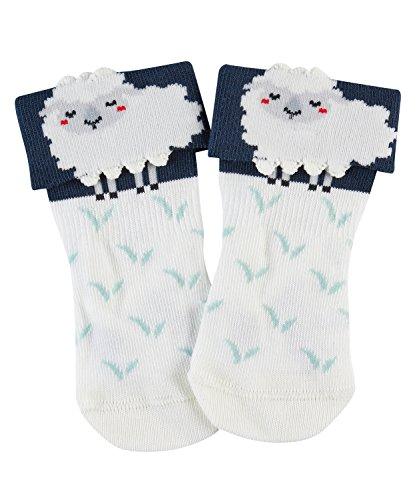 FALKE Baby Sheep Baby Socken offwhite (2040) 74-80 aus hautfreundlicher Baumwolle