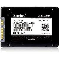 Zheino A22,5pollici SATA III 6GB/s SSD da 256GB (7mm) Solid State Drive per Desktop Laptop con 256M Cache
