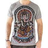 Yoga Shirts - Omtimistic para hombre hindú Ganesh 'Dios elefante Y símbolo de OM'...