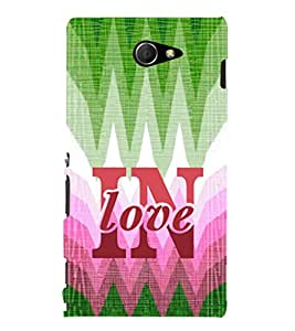 Ebby Designer Printed 3D High Quality Mobile Back Case Cover For Sony Xperia M2 (Premium Matte Finishing Back Case )