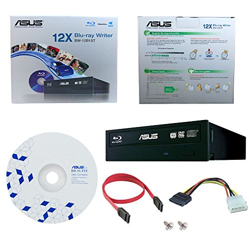 Asus bw-12b1st masterizzatore bd + bd suite sw blu-ray