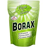 Casa De Amor Borax Powder, 100% Pure with Whitening & Cleaning Power, and for Kids Crystals & Slime (900 gm, White)