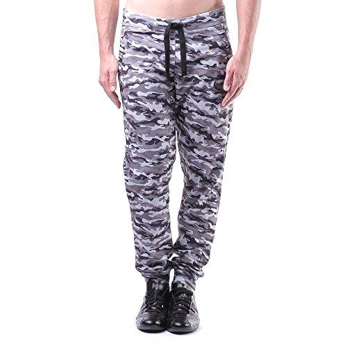 Boxeur Des Rues BXE-1499D Pantaloni in Felpa con Stampa Camouflage, Uomo, Grigio (Grey Camou), XL