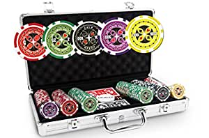 Malette Poker Ultimate Poker Chips 300 jetons - SOLDES !