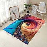 HAHAHA@ 6 mm 3D-Teppich Wohnzimmer Sofa Couchtisch Polster Schlafzimmer Bettvorleger Waschbar 0 Mmx900Mm, 8.60 Budget