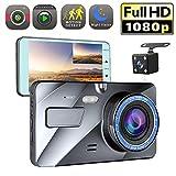"elegantstunning 4"" Vehicle 1080P Car Dashboard DVR Camera Video Recorder G-Sensor Dash Cam"