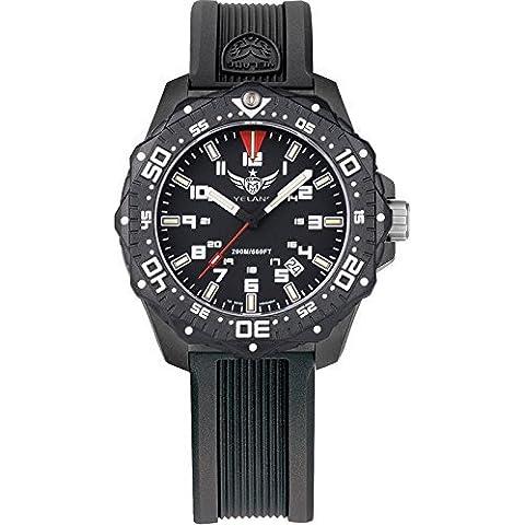 yelang V2.2Mujer Tritio gasn Rosa Luminoso Impermeable 200m reloj de buceo