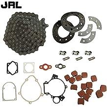 jrl 415 cadena y piñón KIT de montaje & 15 x cuadrado almohadillas de embrague para