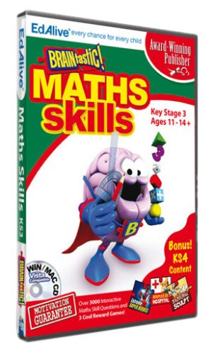 BRAINtastic! Maths KS3 (PC CD) Test
