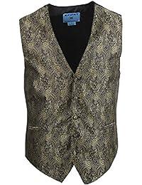 EGC2B.01 Patrones Serie Estilo de microfibra Negro-Back smoking del vestido de chaleco Por Epoint