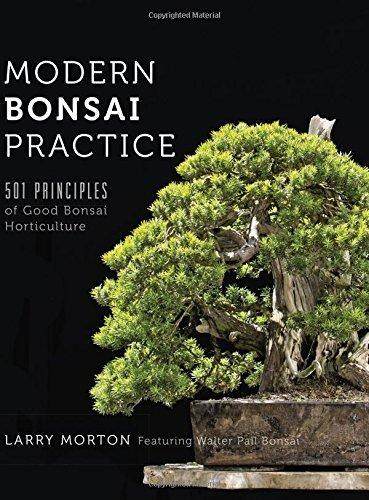 Modern Bonsai Practice: 501 Principles of Good Bonsai Horticulture by Larry W Morton (2016-05-25) par Larry W Morton