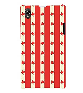 Fuson Designer Back Case Cover for Sony Xperia Z1 :: Sony Xperia Z1 L39h :: Sony Xperia Z1 C6902/L39h :: Sony Xperia Z1 C6903 :: Sony Xperia Z1 C6906 :: Sony Xperia Z1 C6943 (Red Maple Leaves Small Maple Leaves Beautiful Maple Leaves Red Leaves Small Red Leaves)