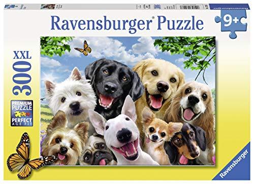 Ravensburger 13228hocherfreut Hunde 300Teile XXL Puzzle - Hund Saw Jig Puzzle