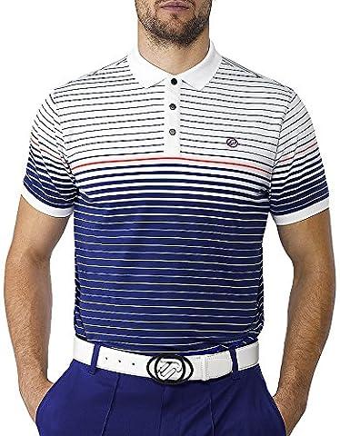 IJP design albatross t-shirt de golf pour homme XS Bleu - bleu