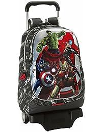 Avengers - Mochila grande con ruedas, 32 x 44 x 16 cm (Safta 611527313)